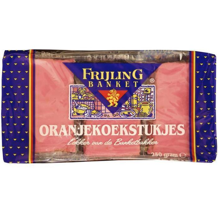 Frijl Oranjekoekstukjes (250g)