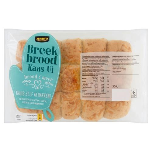 Jumbo Breekbrood Kaas-Ui 300g (300g)