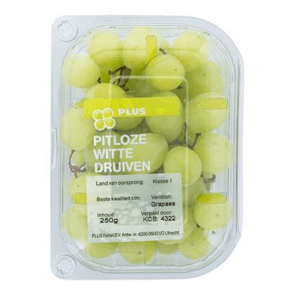 Druiven wit pitloos (250g)