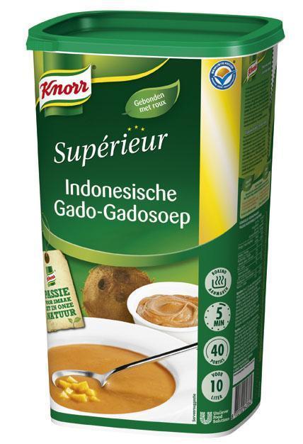 Knorr Sup Ind Gado Gado Soep 1.17KG 6x (6 × 1.17kg)