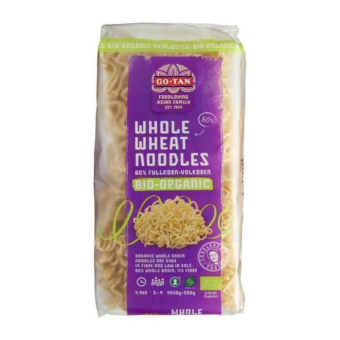 Whole Wheat Noodles Volkoren Bio - Organic 4 x 50 g (200g)