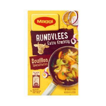 Maggi Extra krachtige bouillon rundvlees (88g)