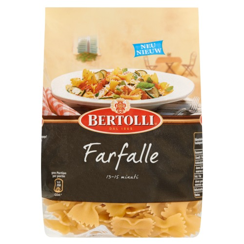 Bertolli Pasta Farfalle 500G 10x (500g)