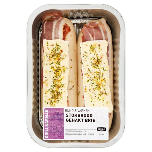 Jumbo Rund & Varken Stokbrood Gehakt Brie 355 g (355g)