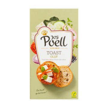 Jos Poell Toast olijf (90g)