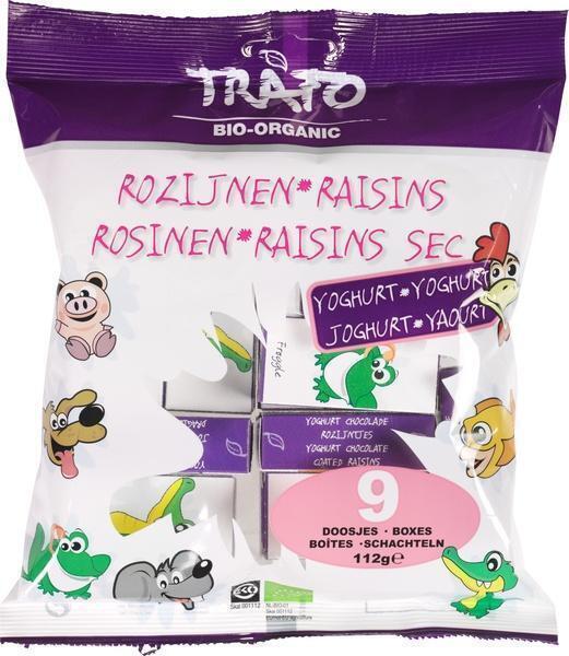 Yoghurt rozijntjes (112g)