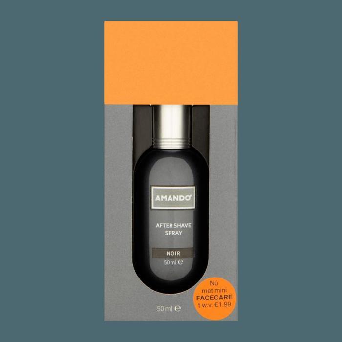 Amando After Shave Spray Noir 50ml (24 × 30cl)