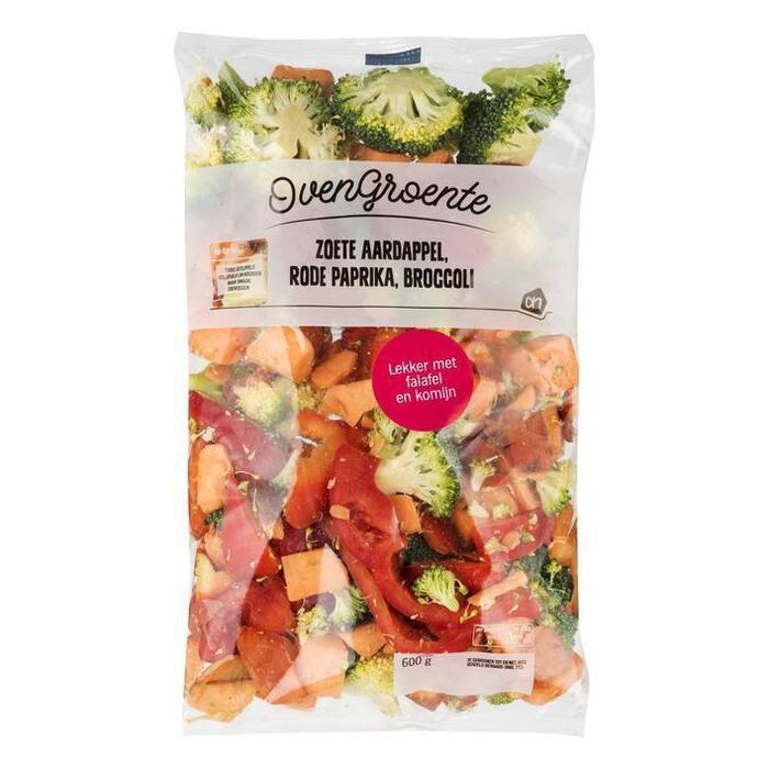 AH Ovengroente aardap paprika en broccoli (600g)