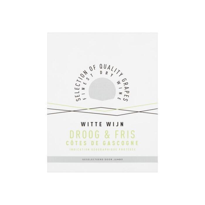 Jumbo Huiswijn Wit Fris 3L (3L)