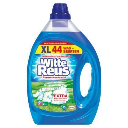 Witte Reus Gel Vloeibaar Wasmiddel 44 Wasbeurten (rol, 220 × 2.5L)