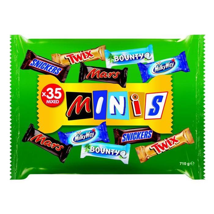 MIXED MINIS Chocolade met vulling 710 GRM Zak (35 × 710g)