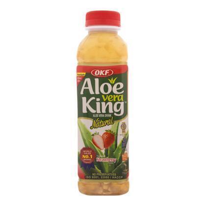 Aloe vera aardbei (0.5L)