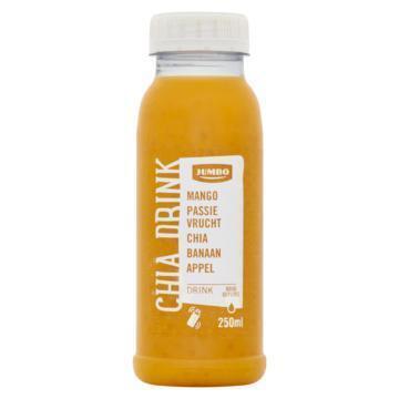 Jumbo Chia Drink Mango Passievrucht Chia Banaan Appel 250 ml (250ml)