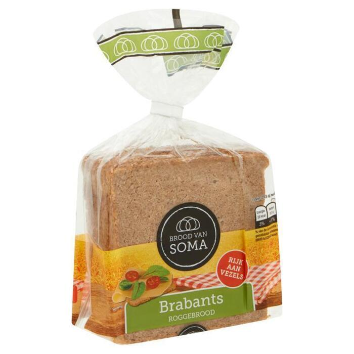 Brabants Roggebrood (zak 200g) (200g)