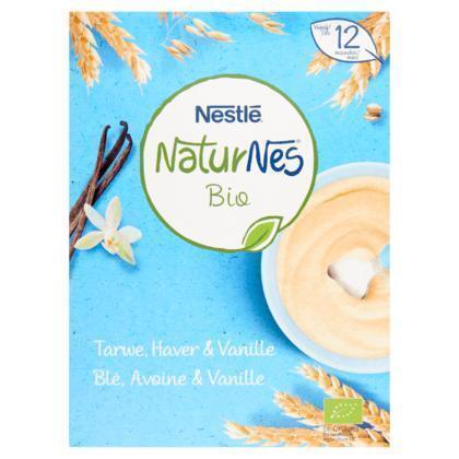 Nestlé Bio Tarwe, Haver & Vanille Vanaf 12 Maanden 200 g (200g)