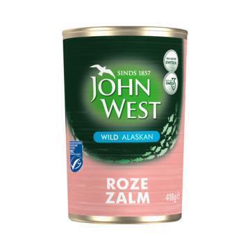 John West Wilde roze zalm MSC (418g)