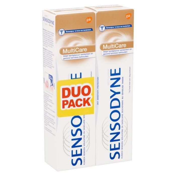 Sensodyne MultiCare Tandpasta Duo Pack 2 x 75ml (2 × 75ml)