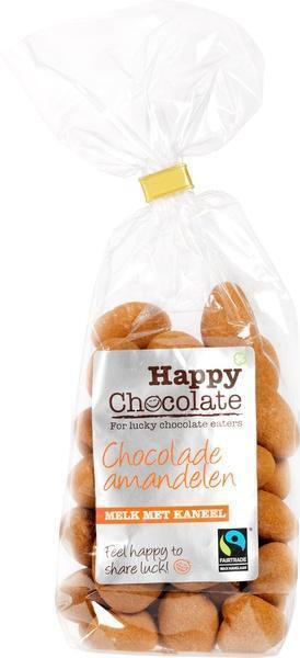 Chocolade amandelen melk met kaneel (zak, 175g)