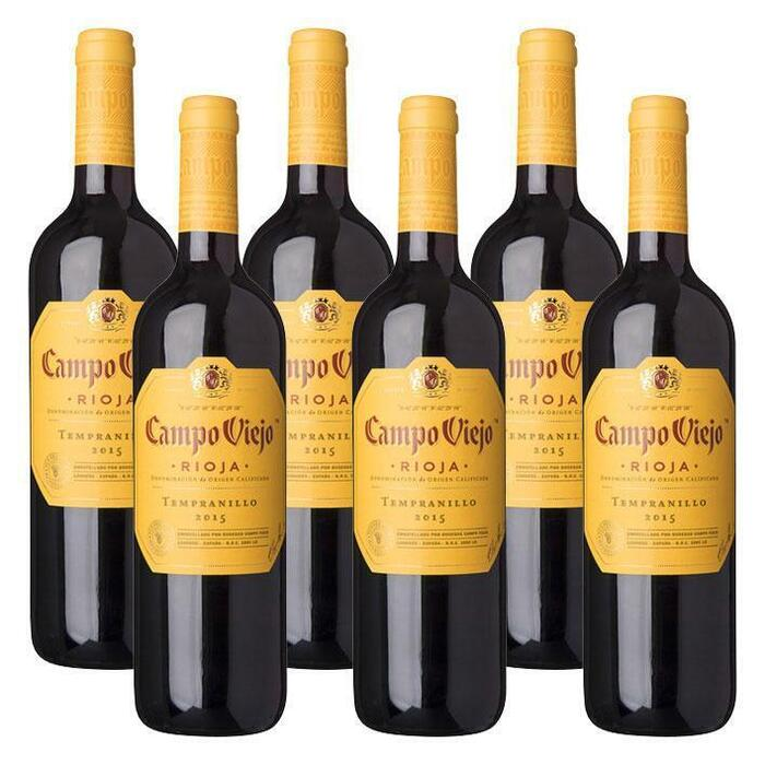 Rioja Tempranillo (glas, 6 × 0.75L)