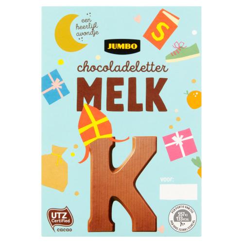 Jumbo Melkchocolade Letter K 65 g (65g)