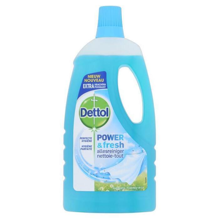 Dettol Power & fresh allesreiniger katoenfris (1L)