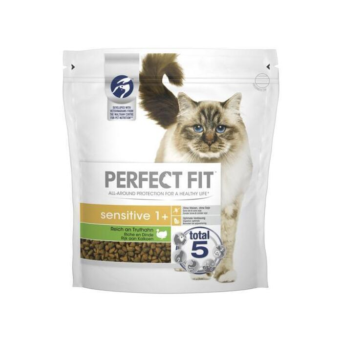 Perfect Fit Kattenvoer Sensitive 1+ Kalkoen 1,4 kg (1.4kg)