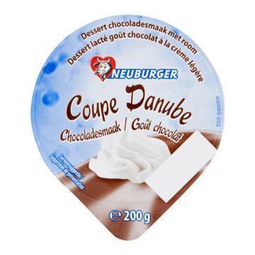 Toetje met room chocola (Stuk, 200g)