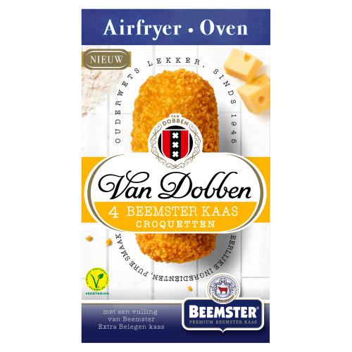 Van Dobben Airfryer & Oven Beemster Kaas Croquetten 4 x 60 g (60g)