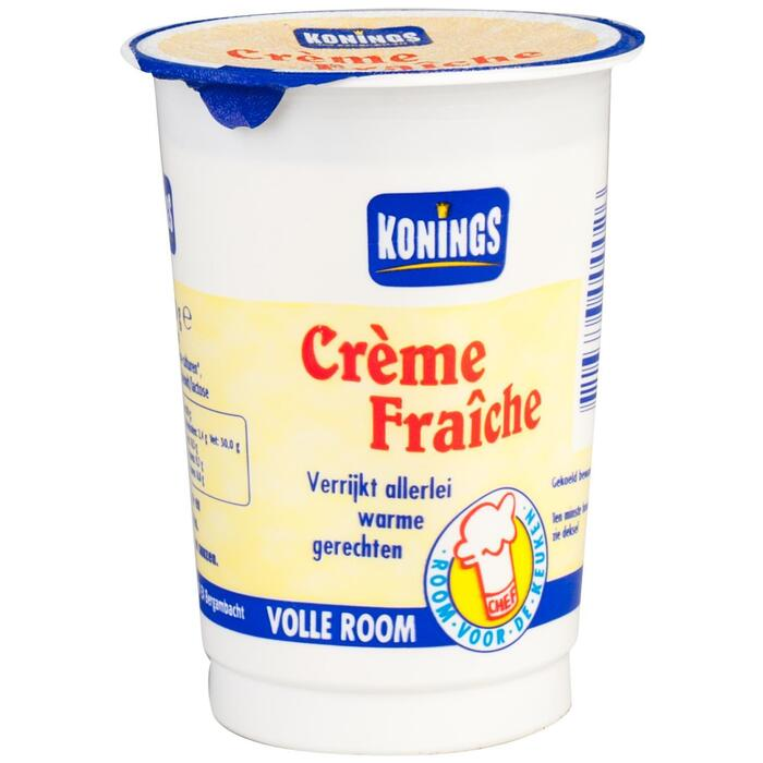 Konings Crème Fraîche 200 g (Stuk, 200g)