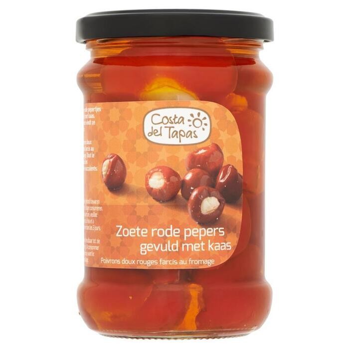 Costa del tapas, Zoet pepertje met kaas (pot, 250g)