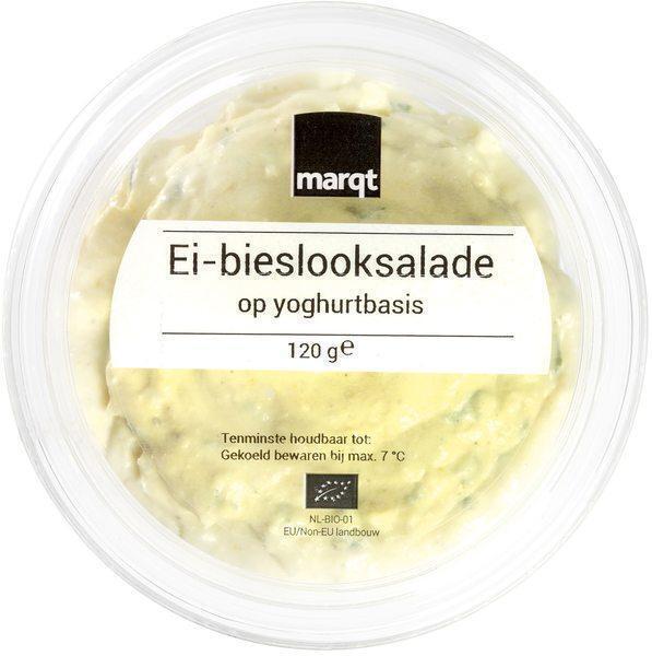 Ei-bieslook salade op yoghurtbasis (120g)