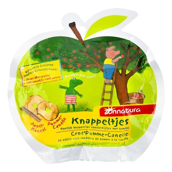 Zonnatura Knappeltjes Appel-kaneel 10 g (10g)