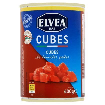 Cubes tomatenblokjes in tomatensap (400g)