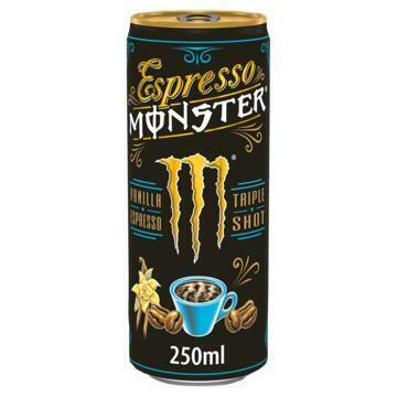Monster Vanilla Espresso Triple Shot 250 ml (rol, 250ml)