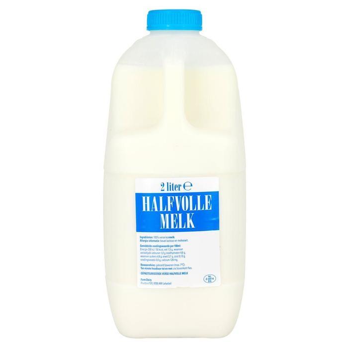 Halfvolle melk (Stuk, 2L)