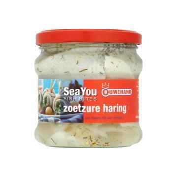 Zoetzure haring (pot, 355g)