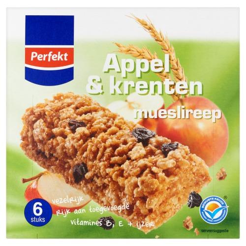 Appel & Krenten Mueslireep 6 x 23 g (23g)