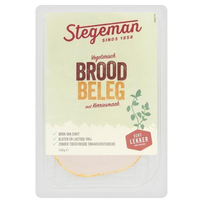 Stegeman Vegetarische Specialiteit Kerrie 100 g (100g)