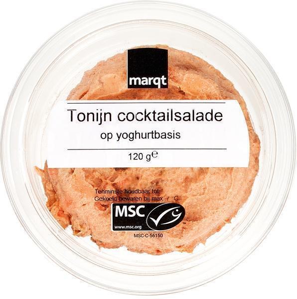 Tonijnsalade op yoghurtbasis (120g)