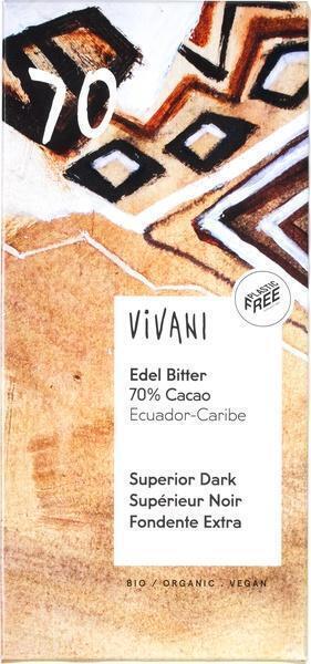 Vivani ecuador edel bitter (100g)