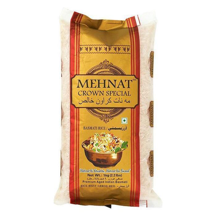 Mehnat Basmati rijst (1kg)