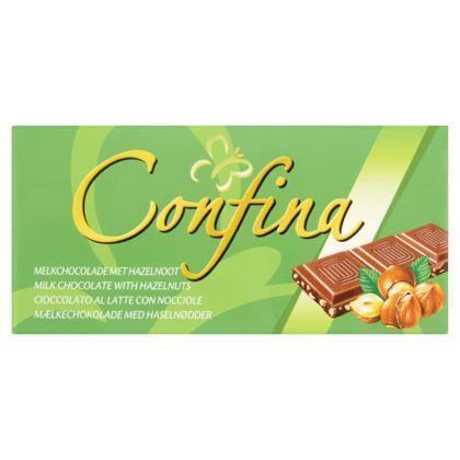 Milk chocolate with hazelnuts (tablt, 100g)