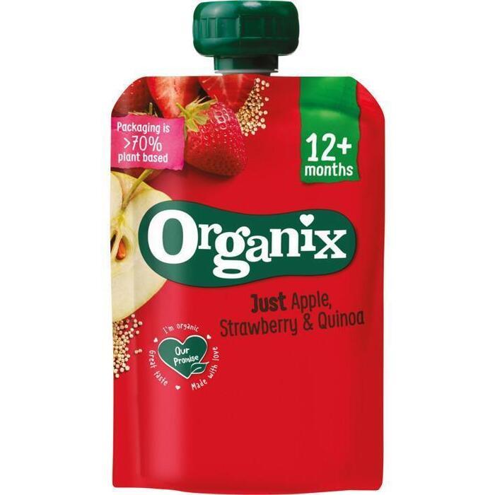Organix Just apple strawberry quinoa (100g)
