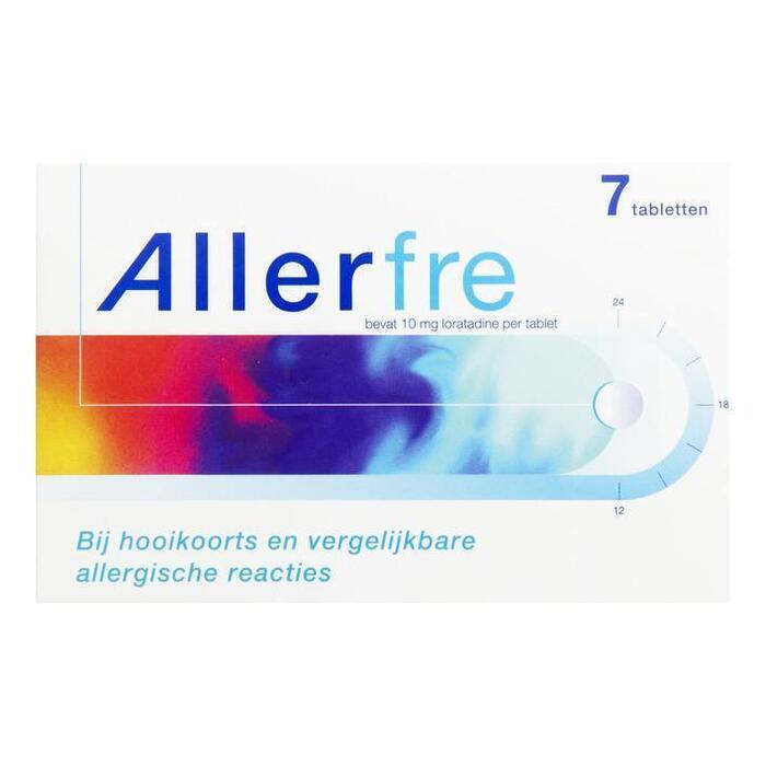 Hooikoort en allergenen 10mg (tabletten, 7 st.)
