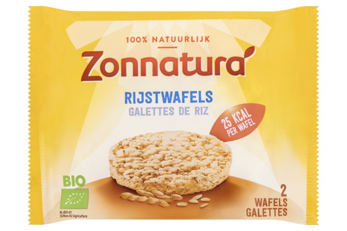 Zonnatura rijstwafels naturelduo 15g (2 × 13.5g)