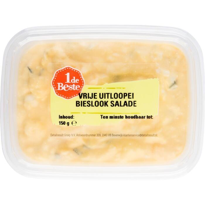 Scharrelei bieslook salade (150g)
