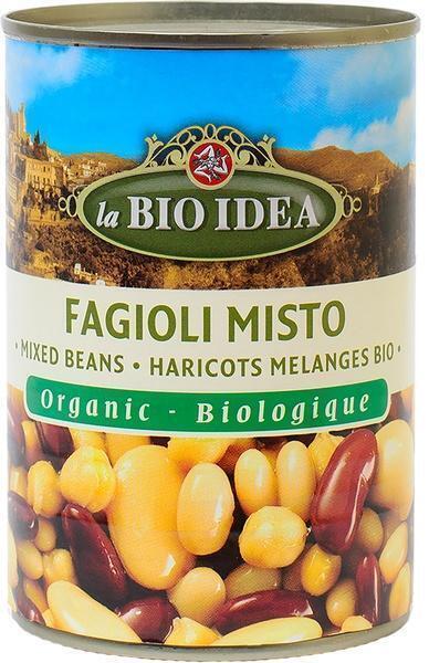 La Bio Idea, Fagioli Misto (blik, 400g)