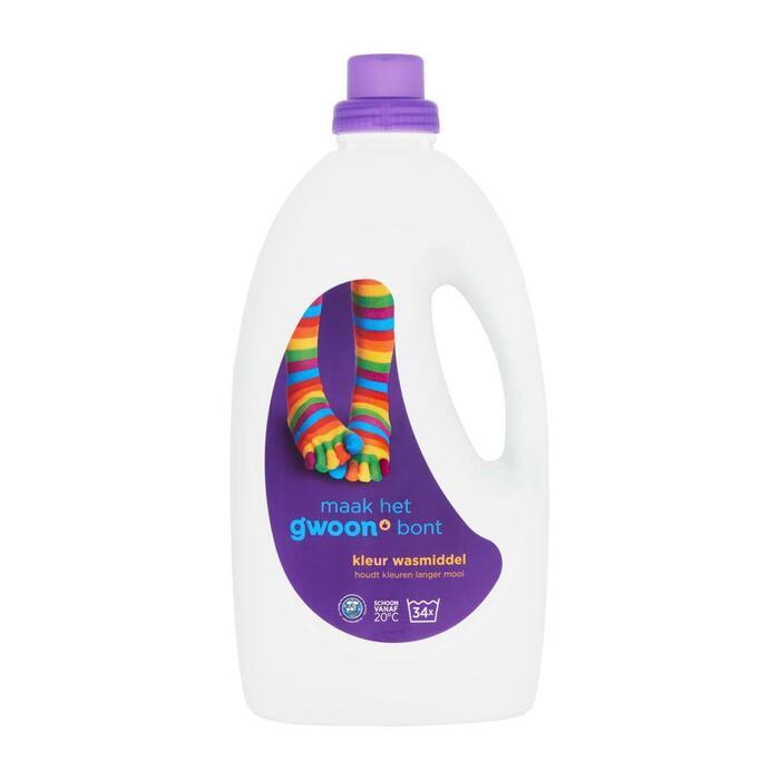 g'woon Wasmiddel kleur (2.48L)