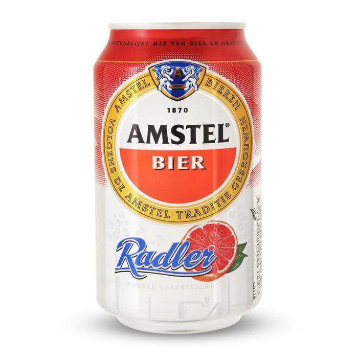 Amstel Bier Radler Grapefruit (rol, 33 × 33cl)
