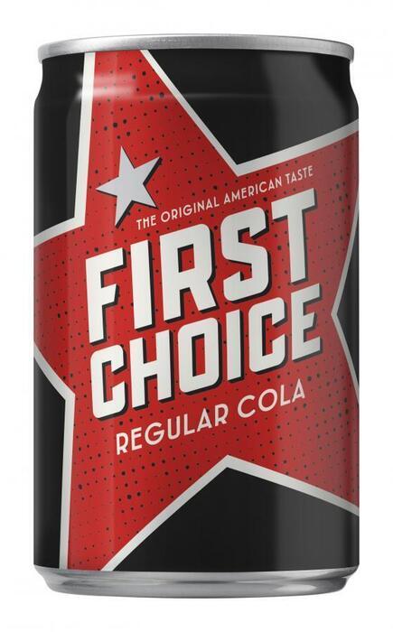 First Choice Cola (blik, 150ml)